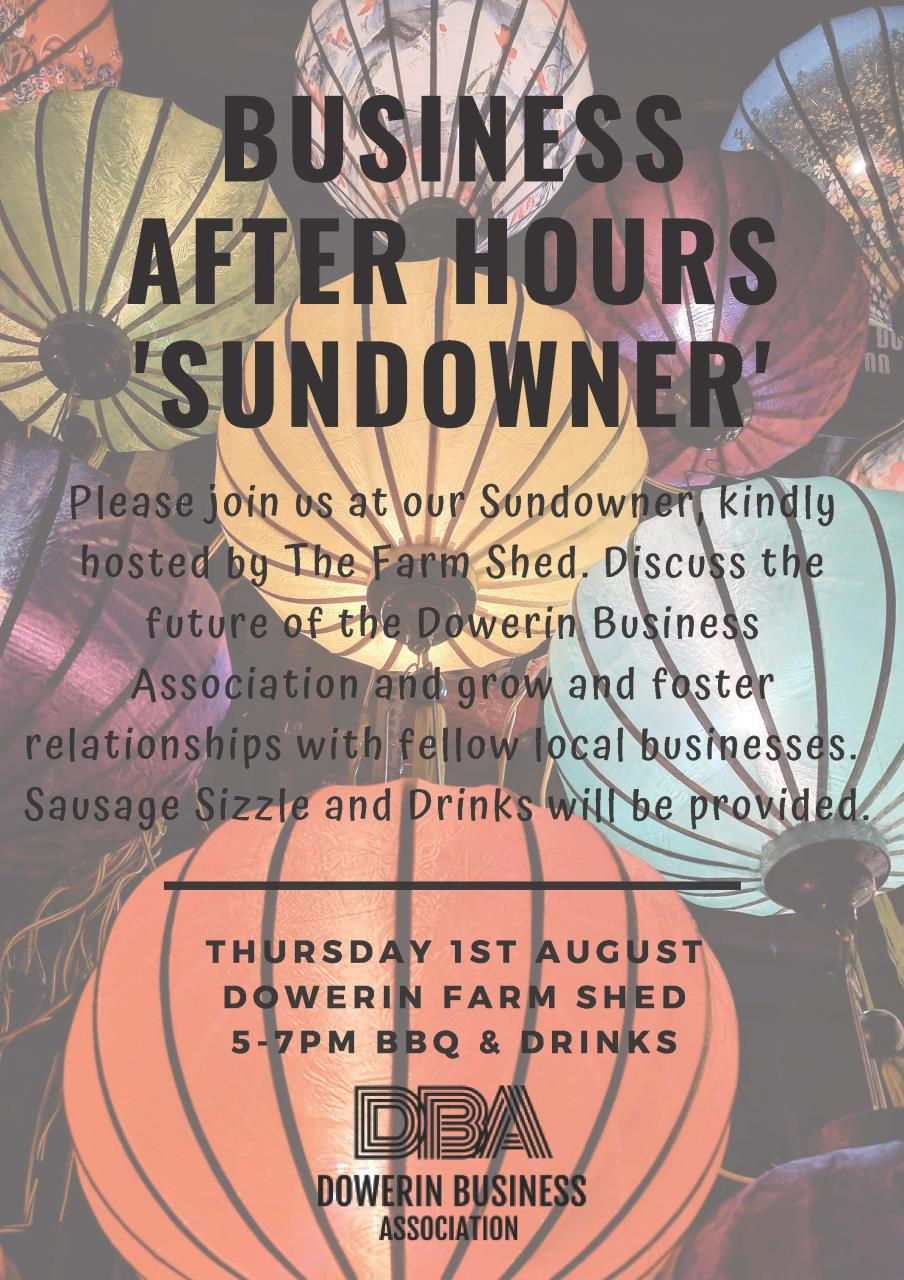 Dowerin Business Association Sundowner